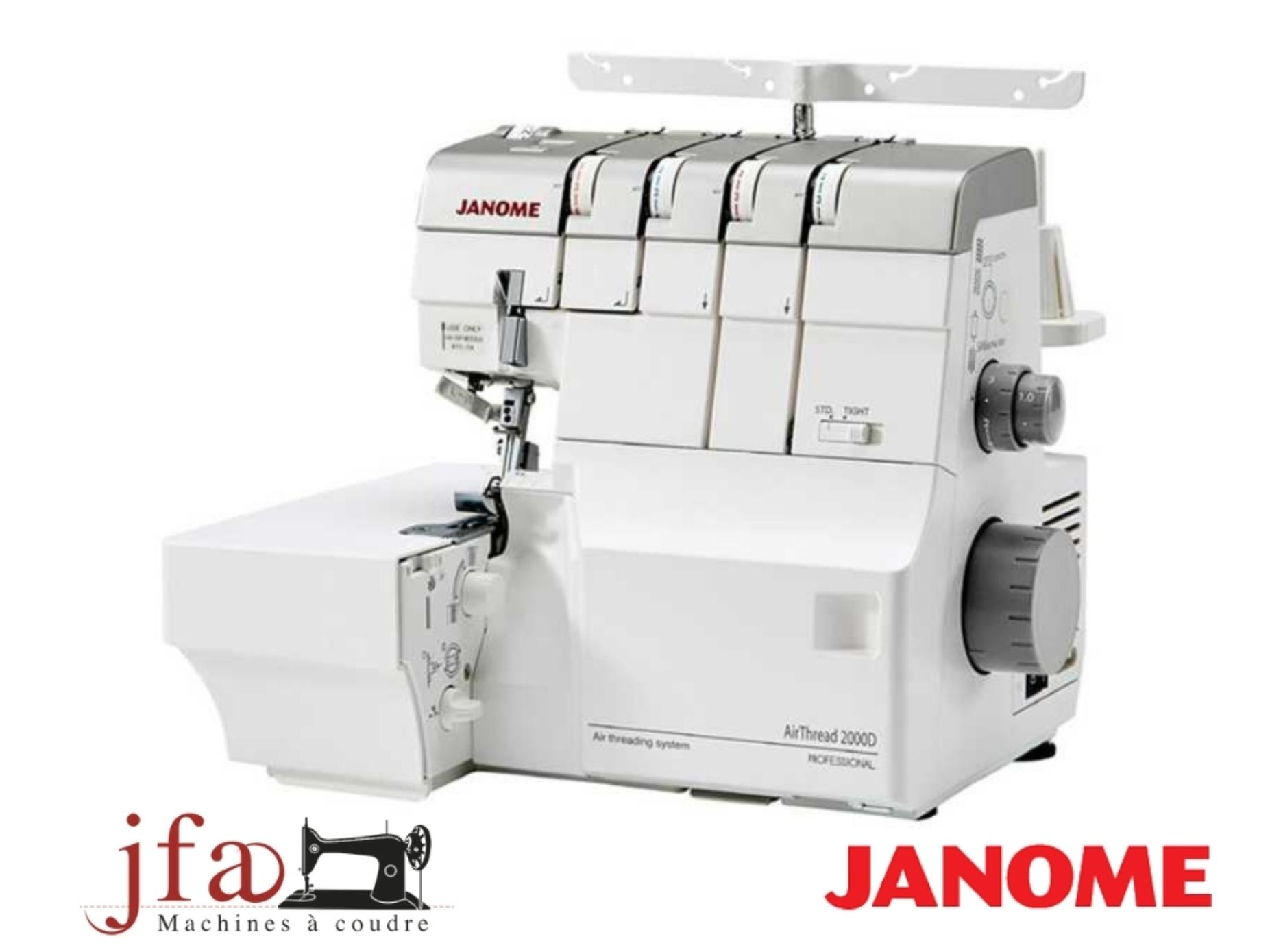 Surjeteuse Recouvreuse Janome Air Thread 2000D